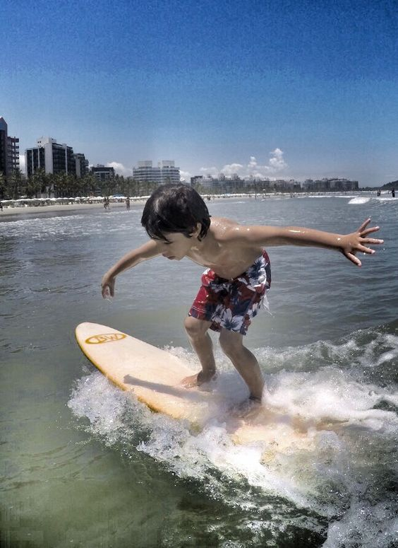 Hakim... #surfing #surf #grom #gopro Ph Marco Andre...