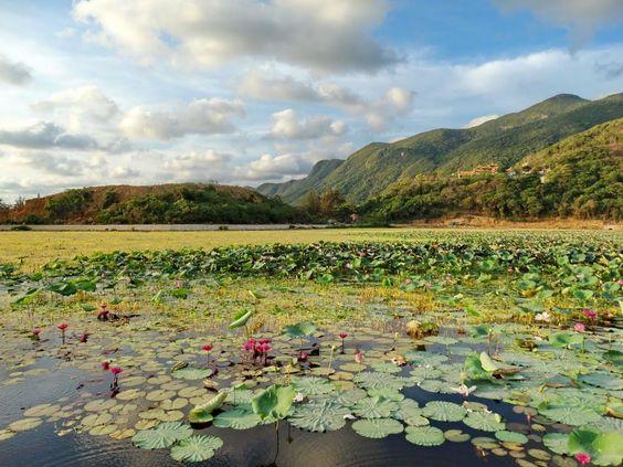 Hồ An Hải – núi Thánh Giá