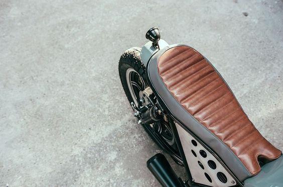 Yamaha XS400 Brat Style by Kruz Company #motorcycles #bratstyle #motos | caferacerpasion.com