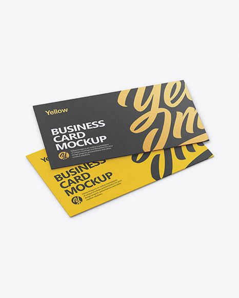 Download Two Textured Business Cards Mockup Half Side View In Stationery Mockups On Yellow Images Object Mockups In 2020 Business Card Mock Up Free Psd Mockups Templates Psd Mockup Template PSD Mockup Templates