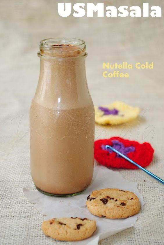 Nutella Cold Coffee