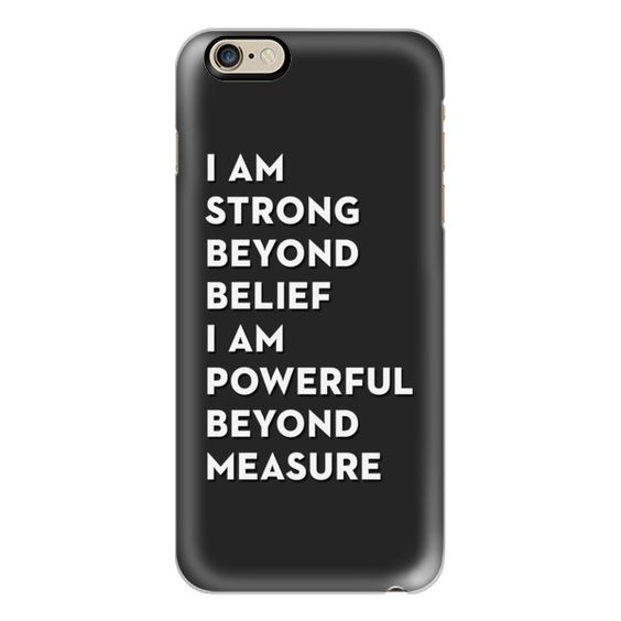iPhone 6 Plus/6/5/5s/5c Case - Strength&Power (51 CAD) ❤ liked on Polyvore featuring accessories, tech accessories, iphone case, apple iphone cases, slim iphone case and iphone cover case