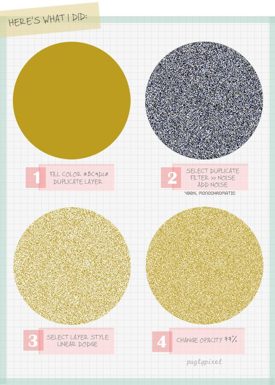 SPARKLY SWEET: An easy Photoshop tutorial on how to create glitter. May come in handy one day.