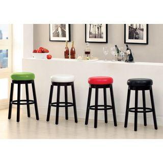 Furniture of America Azio Leatherette Swivel Seat Bar Stool (Set of 2) Buy