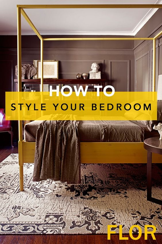 Let your rug be the starting point for your design story Design your bedroom from scratch