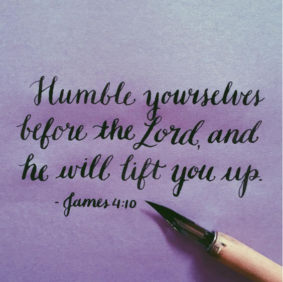 wiirocku:  littleseedletters:  Slowing down and remembering the mindset of Christ, which is humility  James 4:10 (NIV) - Humble yourselves before the Lord, and He will lift you up.: