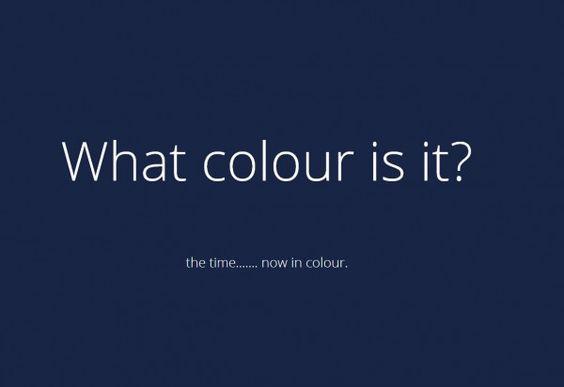 Que cores são?
