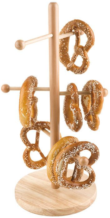 Brezelständer 50 cm / pretzel stand  Naturholz Top Qualität & sofort geliefert