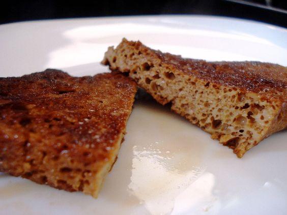 Seitan caseiro frito