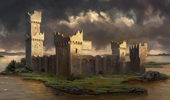 ArtStation - The Room 2 - Castles concepts, Michal Kus