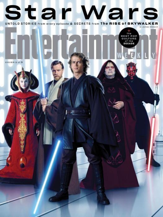 Star Wars Saga Skywalker Portadas Entertainment Weekly Pelicula De Star Wars Star Wars Cuadros Star Wars