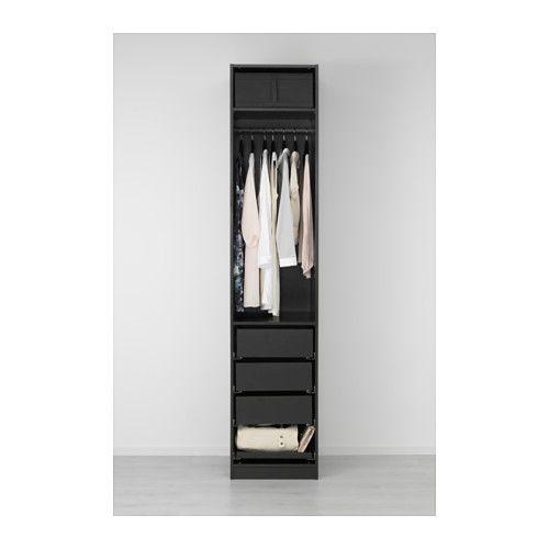 PAX Armoire-penderie - 50x60x236 cm, charnière fermeture silencieuse - IKEA
