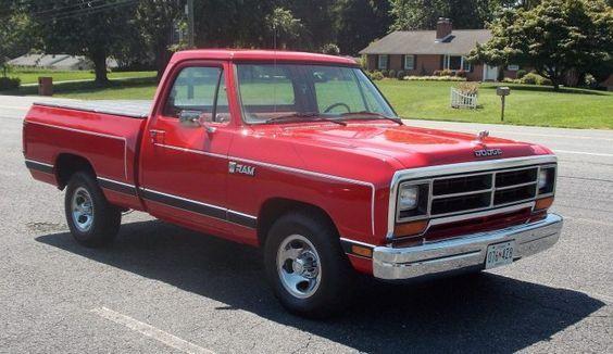 1987 Dodge Ram D 150 Shortbed Pickup Trucks Shop Truck Vintage Pickup Trucks