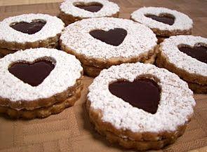 Linzer Sables | Cookies | Pinterest | Html