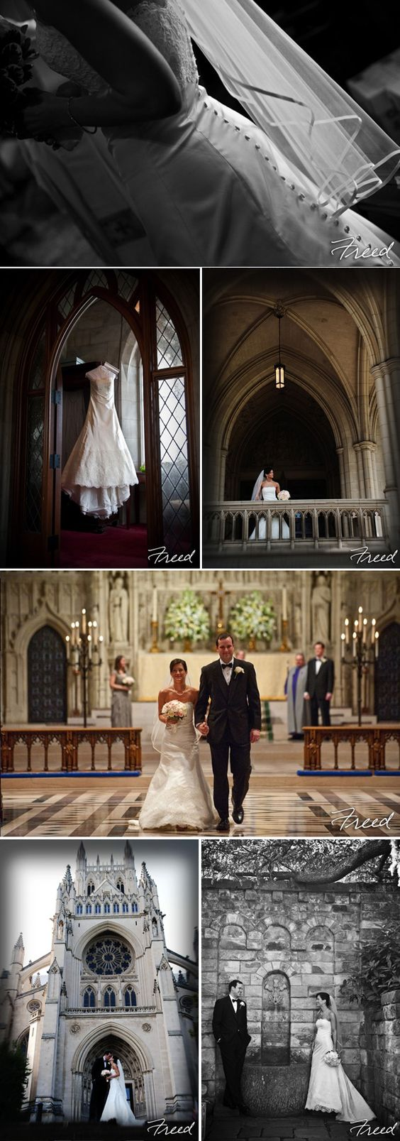 Wedding Ceremony at The National Cathedral Freed Photography