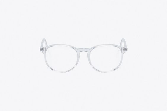 Check out the Clear 01 Crystal Bureau Glasses on WHATDROPSNOW