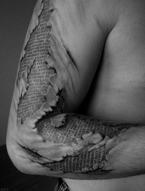 Tatuagem muito bem feita.