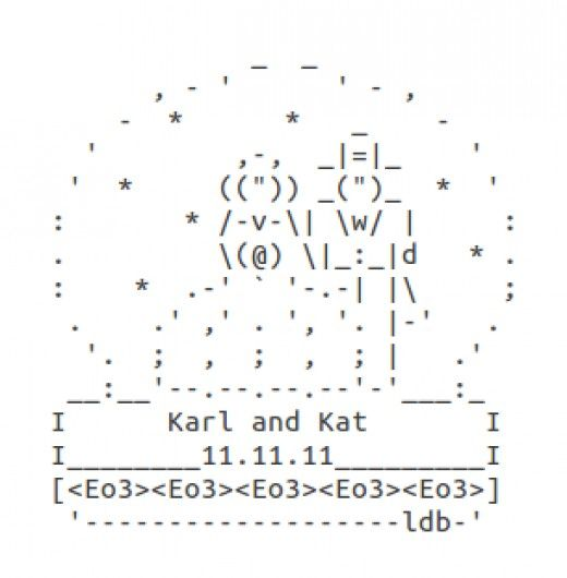 happy valentines ascii facebook