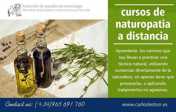 cursos de naturopatia a distancia