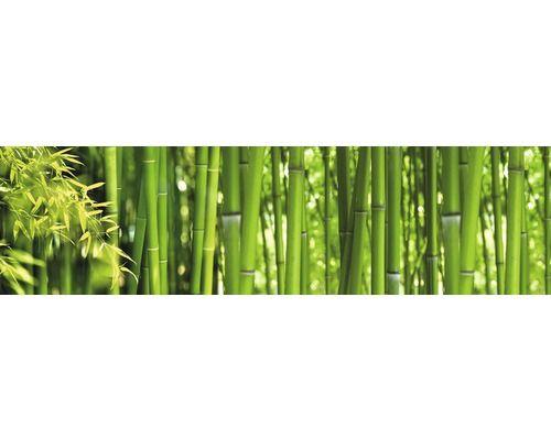 Kuchenruckwand Myspotti Profix Bambus 60x220 Cm Bambus Kuchenruckwand Wande
