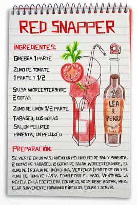 Receta cóctel Red Snapper - Descubre Catabox - Packs Gin Tonic y Vino - El regalo perfecto para los amantes de las cosas buenas y bonitas