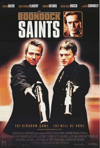 "24/""x36/"" Canvas Art Print Boondock Saints"
