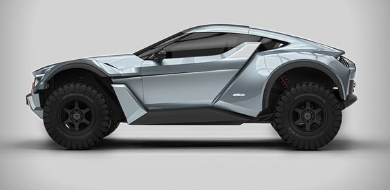 the road legal  'sandracer' would be made available for purchase to everyday consumers as well as form the centerpiece on an off-road single-make championship in dubai.