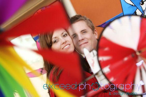 Engagement Photos, Las Vegas, colorful photo