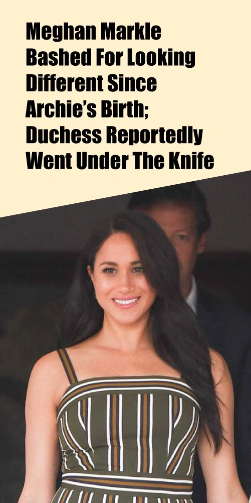 Meghan Markle Reveals The Sweet Way Archie Kept Her On Her Toes During Journey To South Africa Meghan Markle News