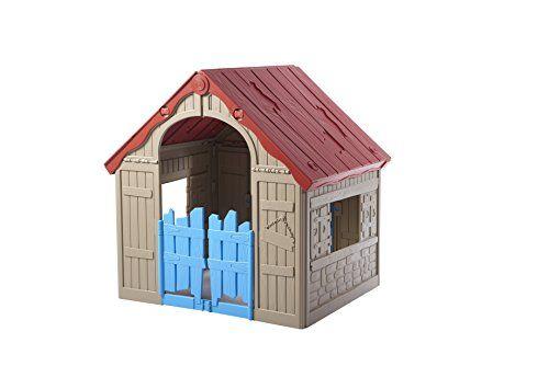 Keter 17202656 Maisonnette Pliable Cabane Enfant Jardin Pour Enfants