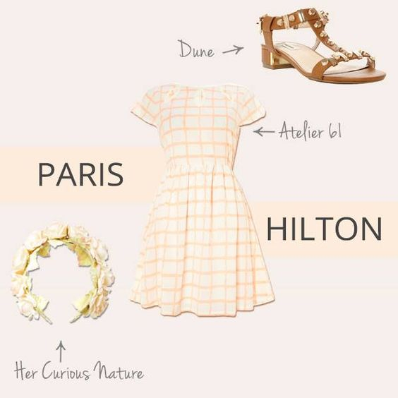Are you hitting the festivals this summer? Steal your style from Paris Hilton!: Summer Steal, Paris Hilton, Festival Style