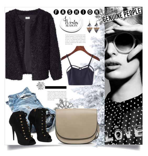 """""""Genuine-people 4."""" by lillili25 ❤ liked on Polyvore featuring Giuseppe Zanotti and Genuine_People"""