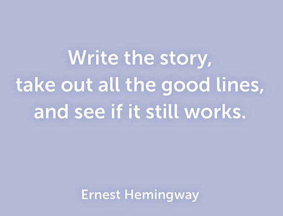 an essay on the works of ernest hemingway The life of ernest hemingway author background among many of the great american the life of ernest hemingway english literature essay print reference this this essay has been submitted by a student this is not an example of the work written by our professional essay writers.