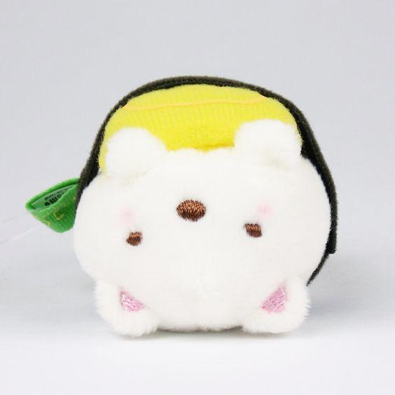 "https://flic.kr/p/MRVBFp | San-X Sumikko Gurashi ""Sushi"" Mini Plush (Bear)"