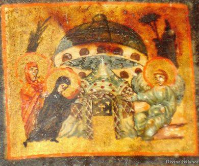 foto's van Jezus met ufos | ... en een vreemd vliegend voorwerp waarvan de vorm sterk lijkt op de moderne UFO