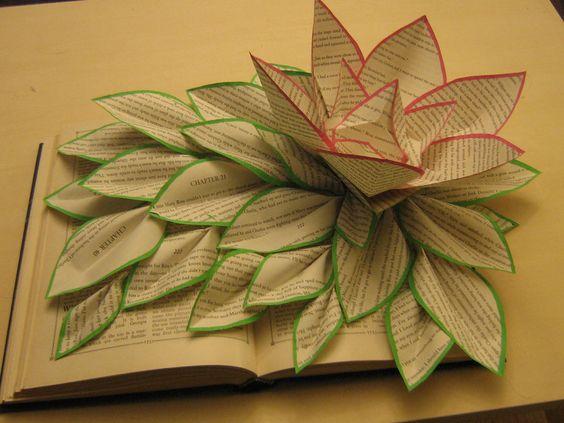 Chapter 21 by ~carrotskanfli on deviantART: Book Art, Photo Ideas, Papercraft, Book Sculpture, Paper Art, Paper Sculptures, Deconstructed Book, Altered Book