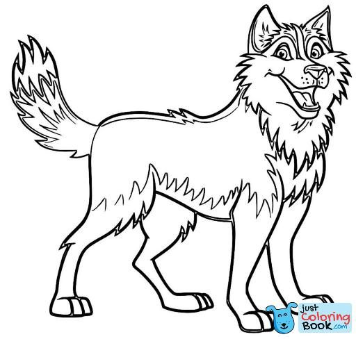 Realistic Animal Coloring Books Elegant Husky Coloring Pages Di 2020
