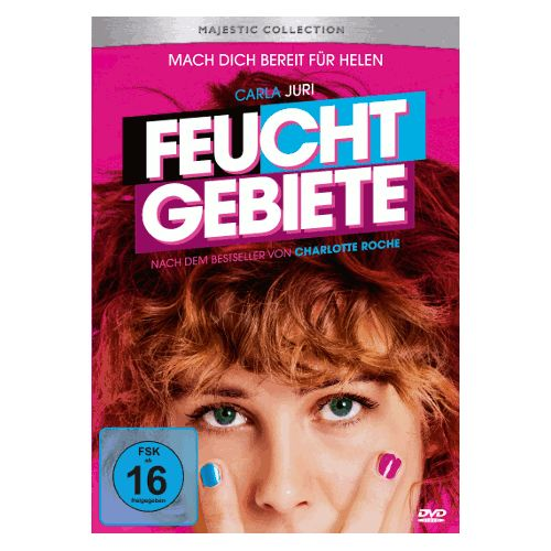Feuchtgebiete / DVD u. a. mit Carla Juri, Christoph Letkowski, Meret Becker - Jetzt mal ehrlich..Darauf haben doch alle gewartet oder?