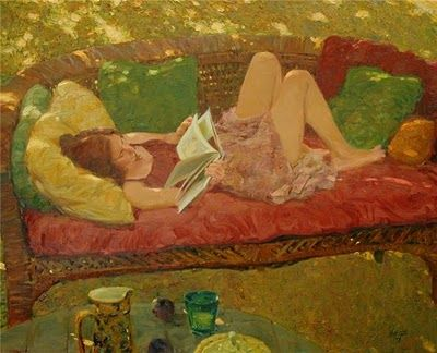 Oil Painting by American Artist David P. Hettinger: