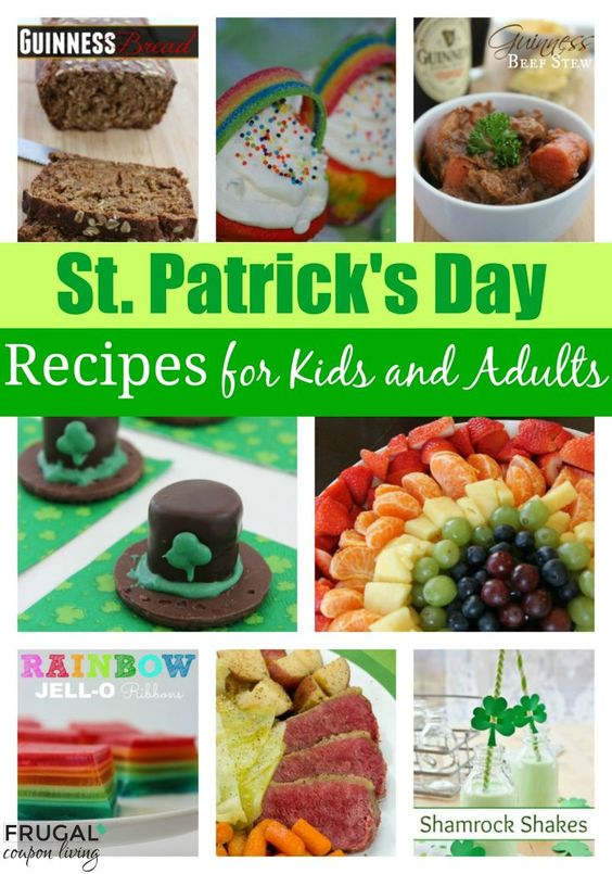 St. Patrick's Day Food Ideas for Kids and Adults