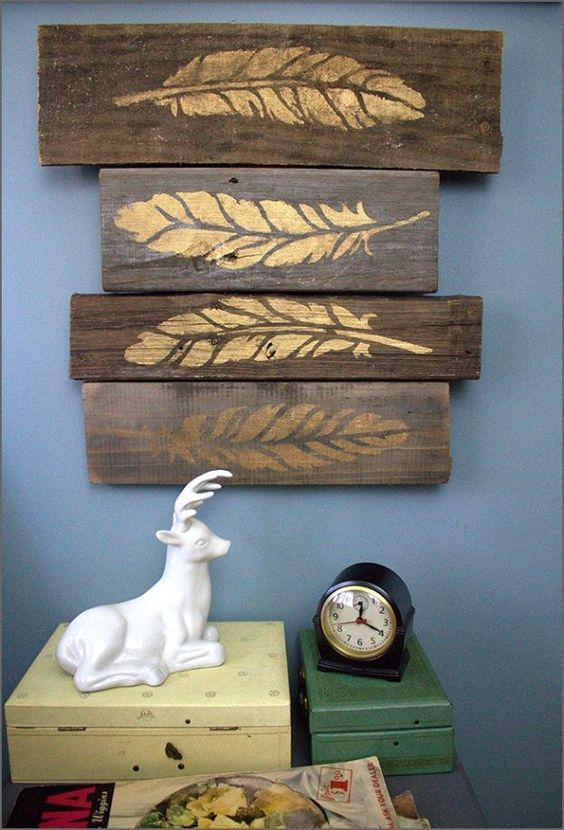 Do it yourself hanging pictures and wall decor on pinterest for Do it yourself wall decor