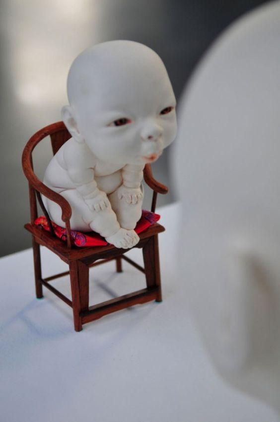 Les porcelaines vivantes de Johnson Tsang