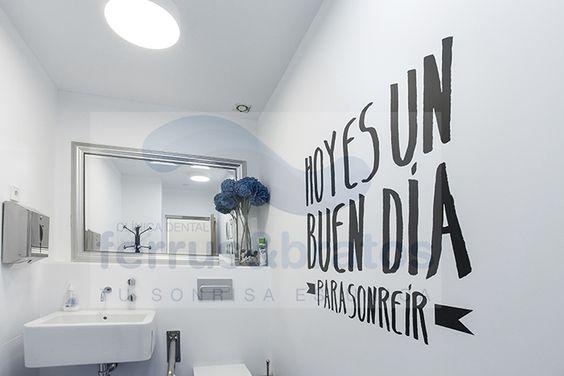 texto en pared