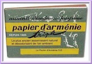 Papier d'Arménie.