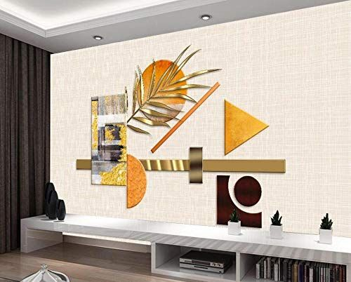 Wallpaper 3d Wallpaper Luxury Geometric Plants Abstract D Https Www Amazon Com Dp B0847qbjhb Ref Cm Sw R Pi Dp In 2020 Wallpaper Decor 3d Wall Murals Wall Murals