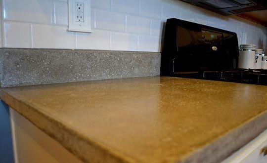 DIY Concrete Countertop Tutorial!