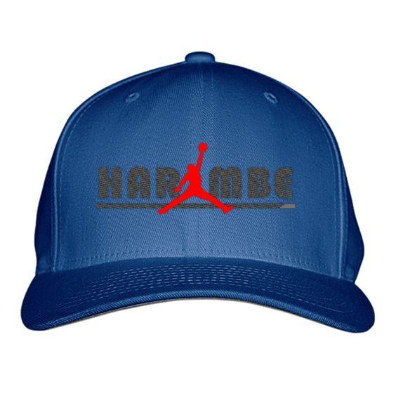 Jordan Harambe Embroidered Baseball Cap