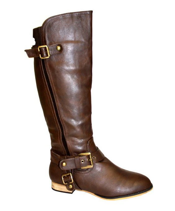 Take a look at this Brown Carison Boot on zulily today!