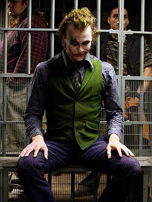 """In tribute of Heath Ledger, The best joker of history  """"why so serious?"""""""