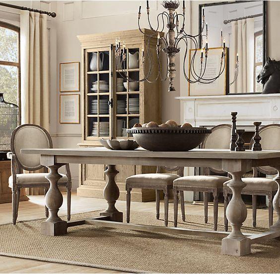 RHs 17th C Monastery Rectangular Dining TableBalustrade  : 8e8ebae9bbe97c990e5a6808079a28eb from www.pinterest.com size 564 x 551 jpeg 80kB